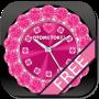 icon [Free]CUTE QLOCK Pink Diamond