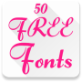 icon Free Fonts 50 Pack 6