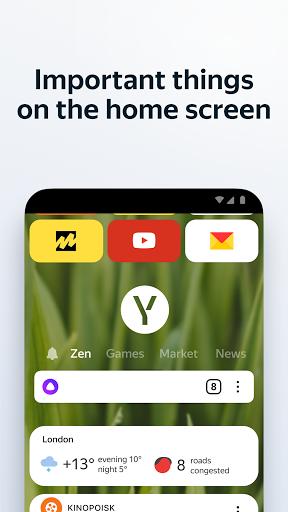 Yandex Browser dengan Protect